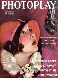 Norma Talmadge on the cover of Photoplay, December 1929