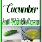 How To Make Cucumber Anti-Wrinkle Cream