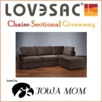 Bloggers Wanted ~ LoveSac Chaise Sectional Event!