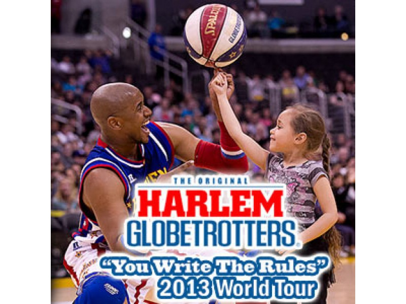 """Harlem Globetrotters """"You Write the Rules"""" 2013 Tour"""