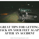 Great Tips for Getting Back on Your Feet Again After an Accident
