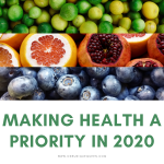 Making Health a Priority in 2020