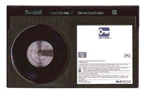 Betamax Tape - Eurovision vault