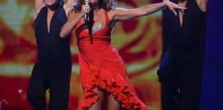Guru Schanke at the 2007 Eurovision Song Contest