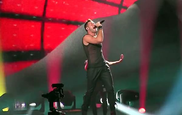 Imri Ziv feels alive at Eurovision 2017