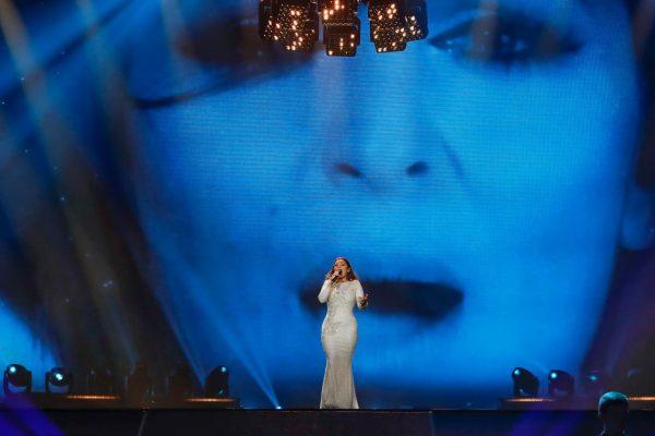Claudia at Eurovision 2017