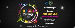 Israel Calling - promotional event @ Rabin Square