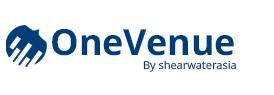 Logo OneVenue Cloud solution venue management event