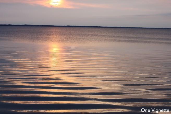 7.14.16. OBX. Sound at sunset