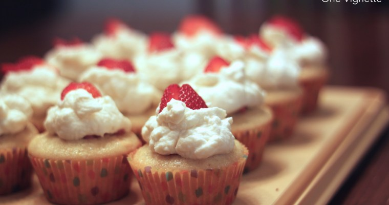 Leah Cooks the Best Strawberry Shortcake Cupcakes from Sally's Baking Addiction