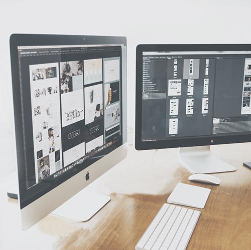 usługa projektowania stron i sklepów internetowych w agencji One Voice