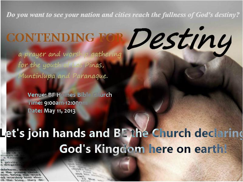 Prayer-Worship Gathering, May 11, 2013