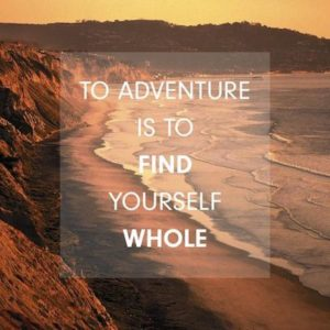 beach, quote, adventure, find yourself, Fear