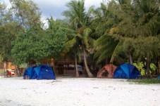 Tents - a cheaper option