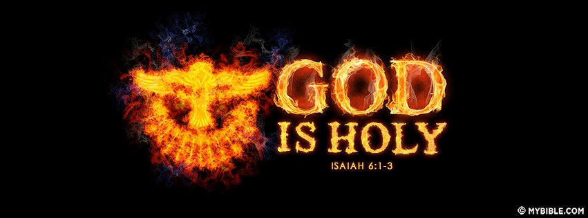 Image result for god is holy isaiah