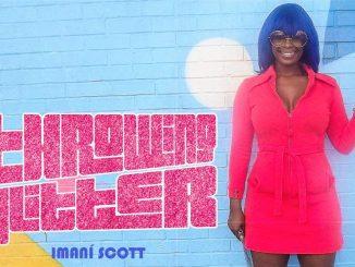 Imani Scott Throwing Glitter