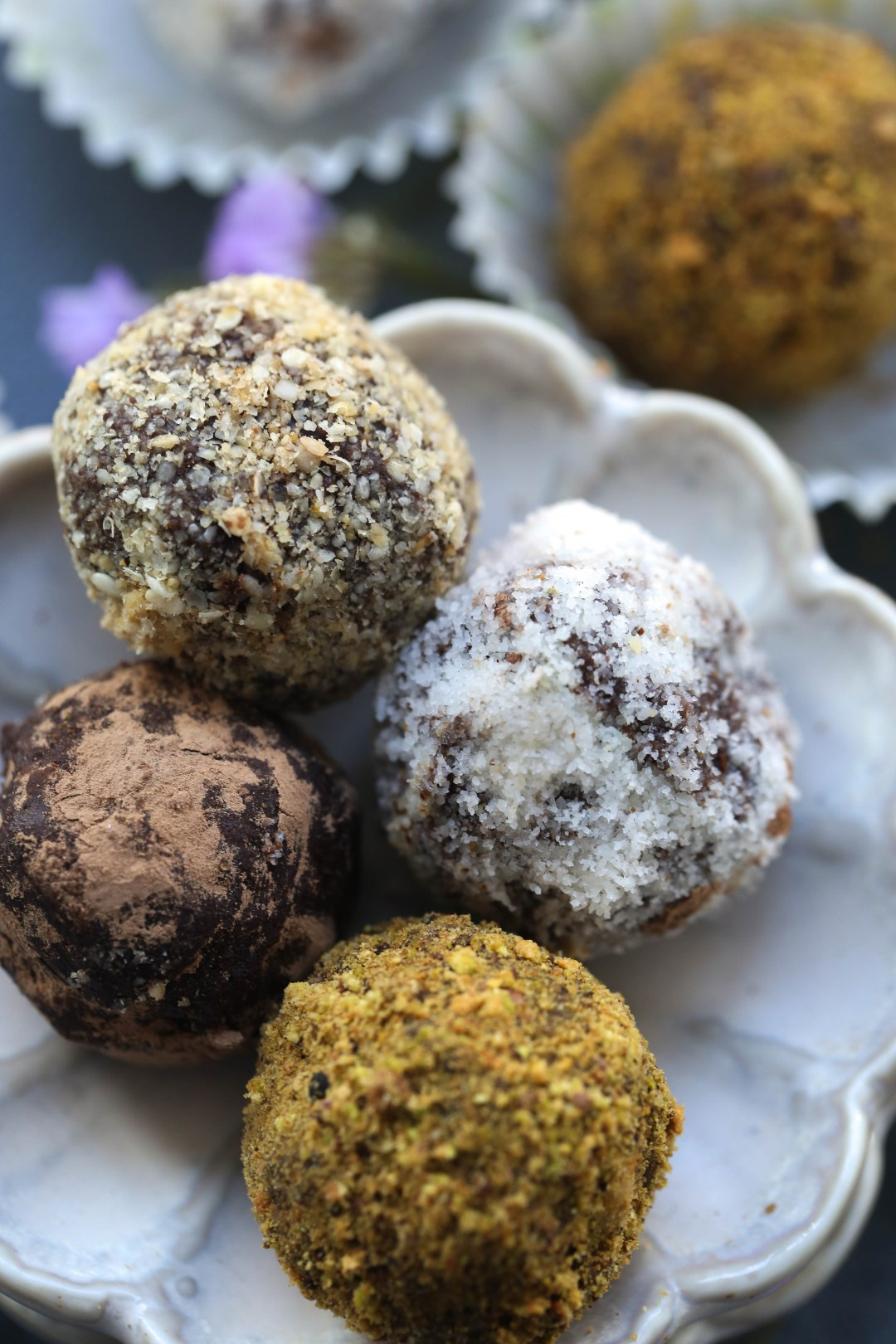 Kahlua Flavoured Chocolate Truffles