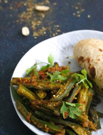 Zaatar Flavoured Sesame Peanut Okra Meal