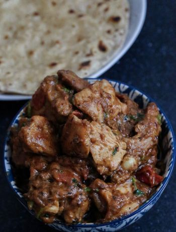 Bihari recipes by OneWholesomeMeal- Bhuna Chicken