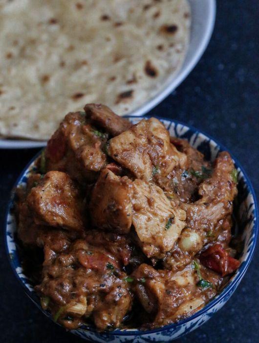 Bihari recipes by OneWholesomeMeal- Bhuna Chicken