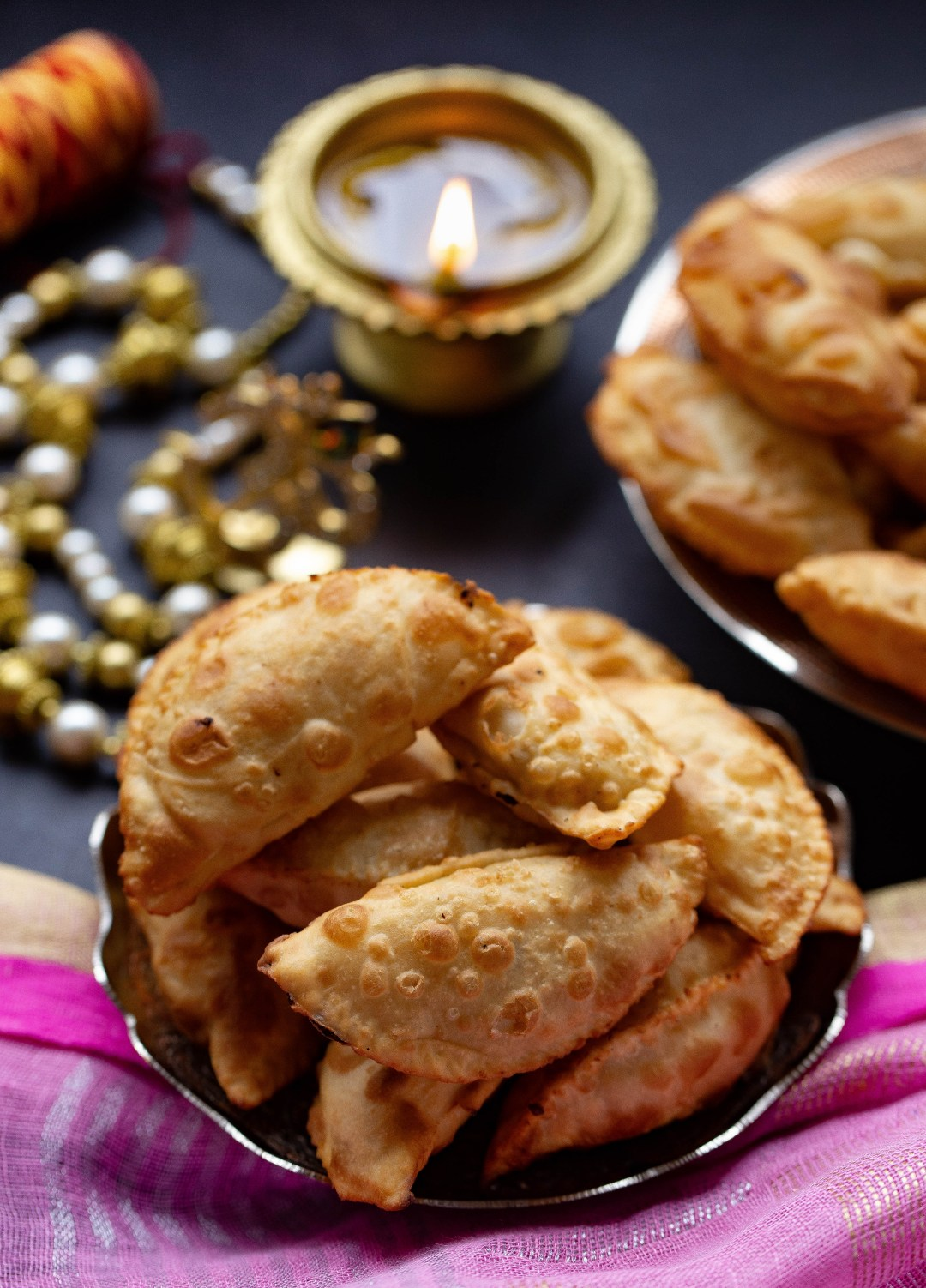 Dry fruits and reduced milk handpies by OneWholesomeMeal