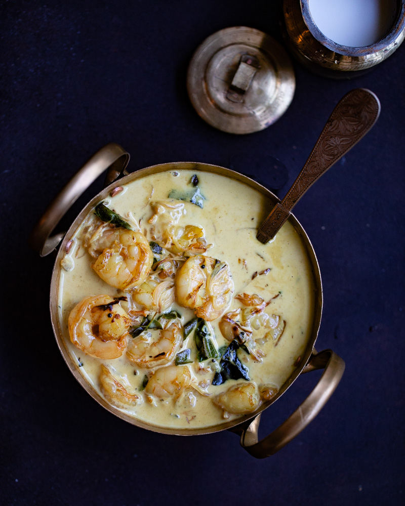 Prawns in Coconut Cream Sauce by OneWholesomeMeal