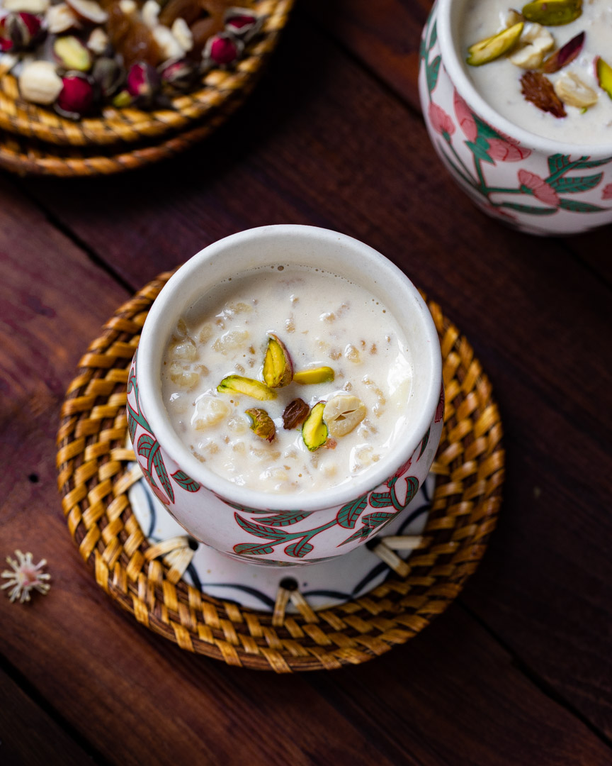 Rice Kheer With Jaggery by OneWholesomeMeal