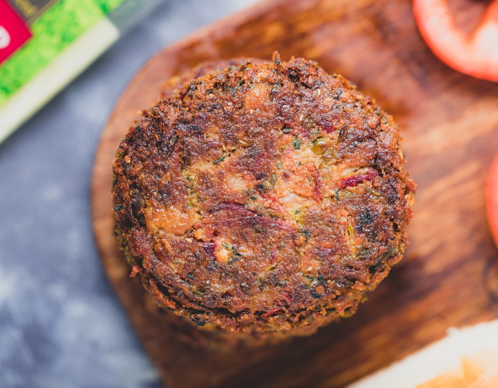 Vegan Beetroot Patty