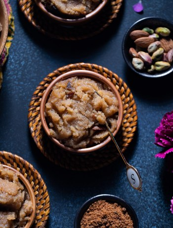 Suji Halwa or Semolina Pudding