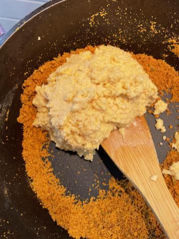 Raw Moongdaal Paste