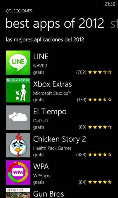 Best Apps 2012 Lumia 800