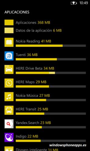 Lumia storage check beta
