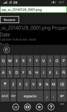 Aerize Explorer para Windows Phone 8.1