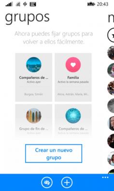 Grupos Messenger