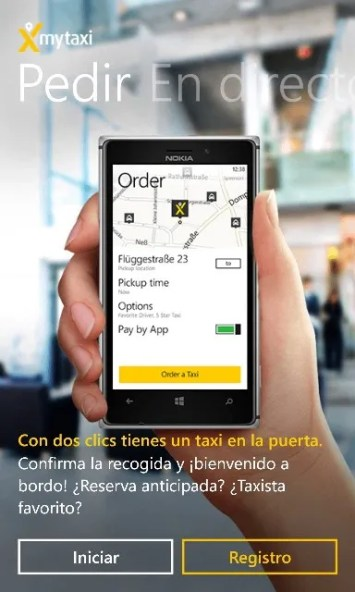 MyTaxi Para Windows Phone
