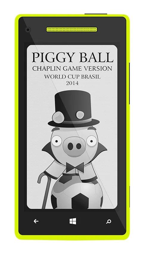 Piggy Ball, un divertido juego en honor a Charles Chaplin