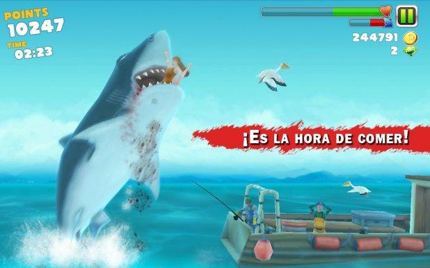 ¡Es la hora de comer! en Hungry Shark Evolution