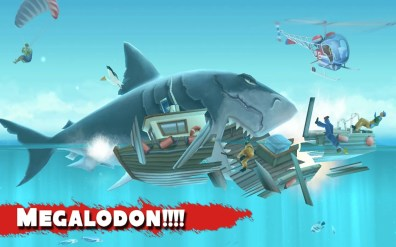 Megalodon!!!! en Hungry Shark Evolution