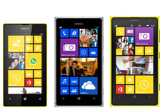 Lumia Cyan en los Nokia Lumia 520, 925 y 1020