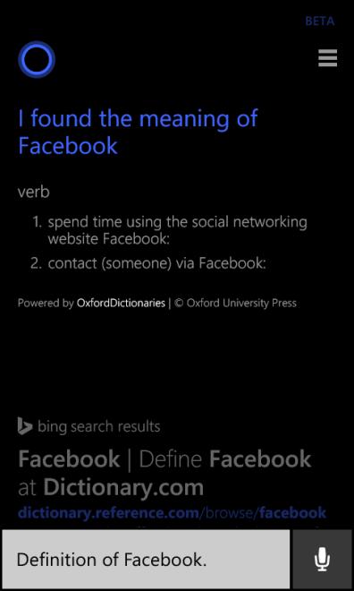 Definicion de Facebook