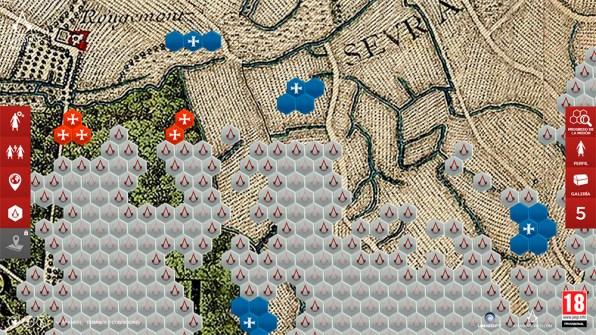 Zonas libres de París en Assassin's Creed Unity
