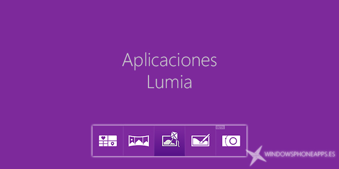 Aplicaciones Lumia