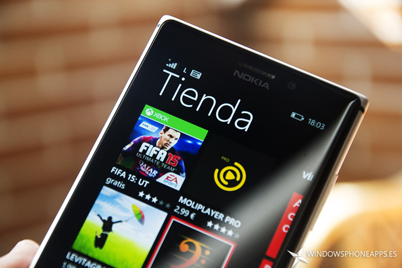 La tienda Windows Phone