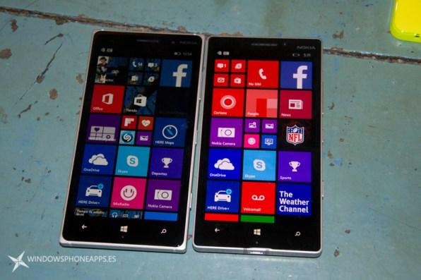 Lumia 830 vs Lumia 930