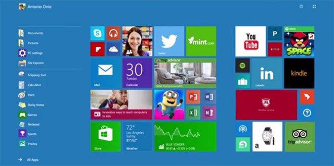 Modo Continuum - windows 10