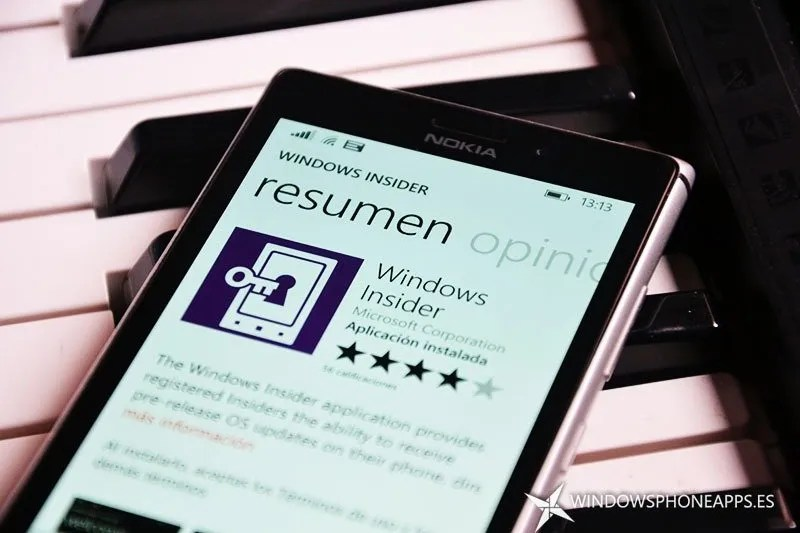 Windows Insider, instala Windows 10 para Smartphone
