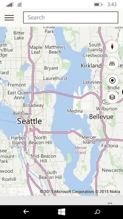 mapas windows 10 moviles