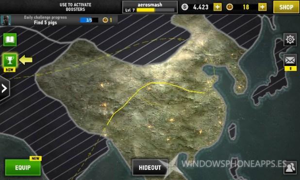 Mapas sin misiones