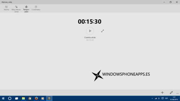 temporizador windows 10 10049