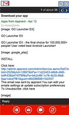 reader for gmail 3